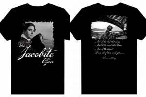 Black and White Tee Shirt - The Jacobite Officer